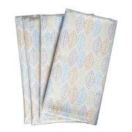 napkins leaf pattern